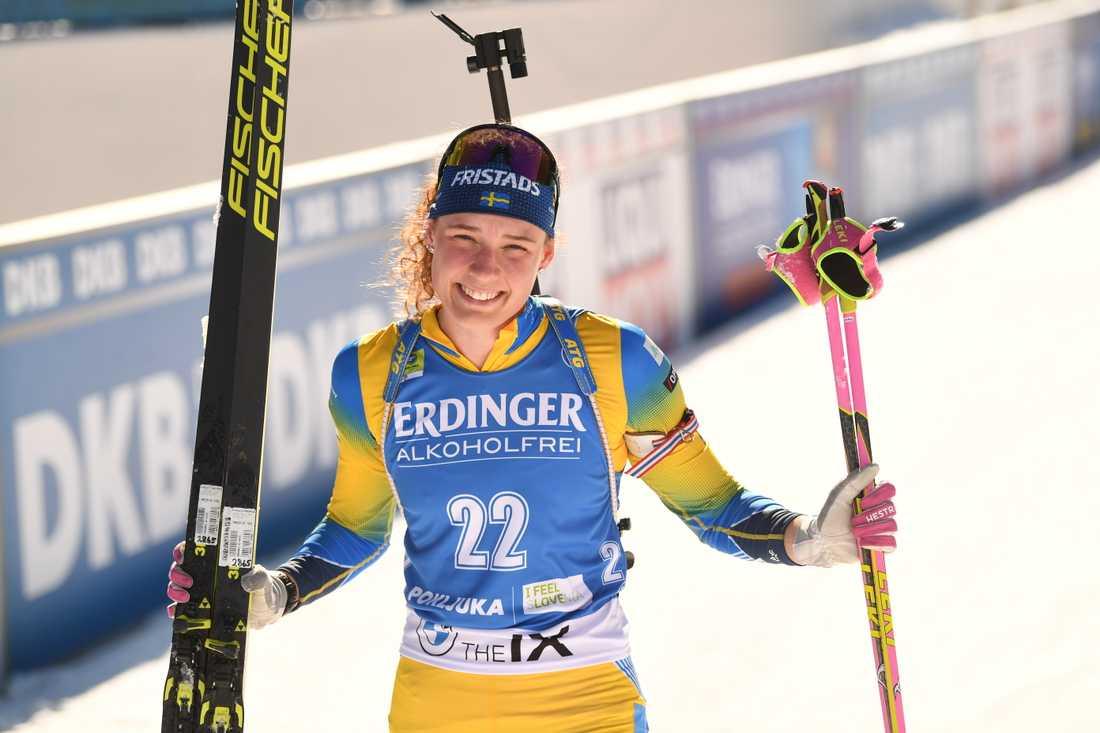 Formbesked inför VM för Hanna Öberg - vann EM-guld