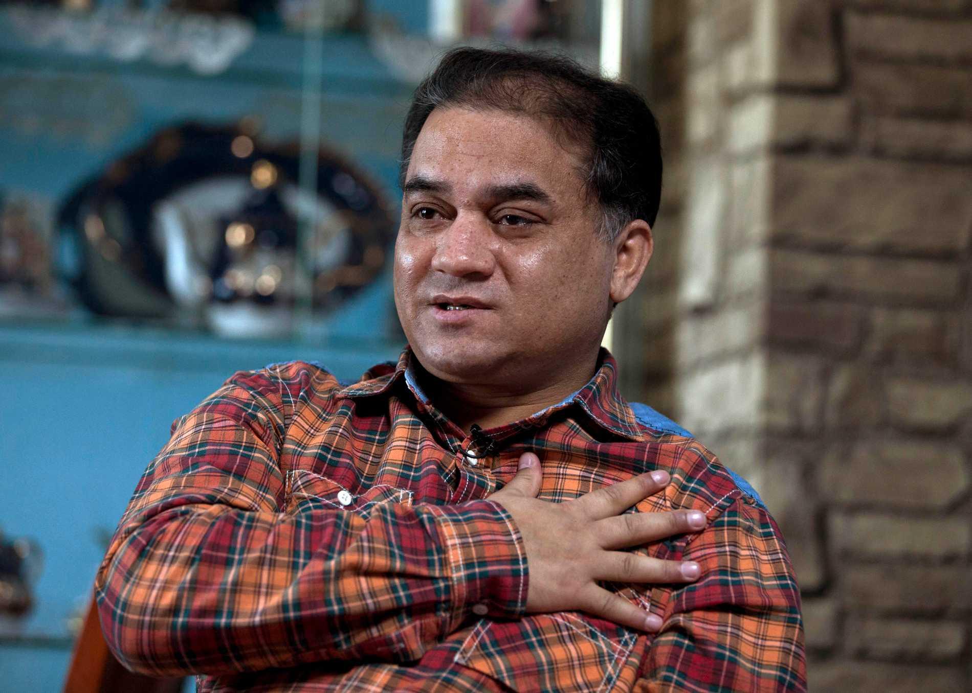 Uiguraktivisten Ilham Tohti, fängslad i Kina sedan 2014, får årets Sacharov-pris av EU-parlamentet. Arkivfoto.