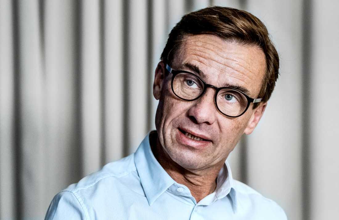 Ulf Kristersson vill att det tillsätts en ny energikommission. Arkivbild.