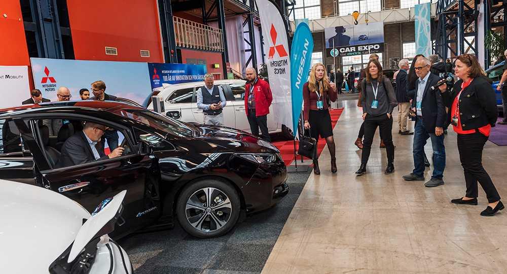 På fredagen visades Nissan Leaf 2Zero på elbilsmässan i Göteborg.