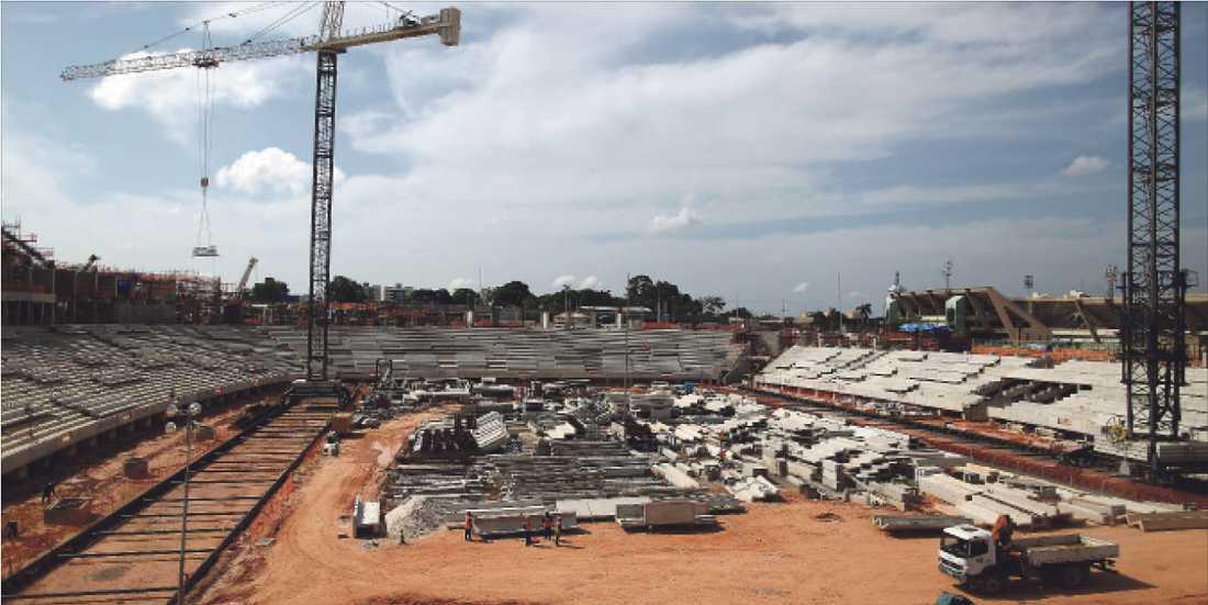 MANAUS Arena Amazonia (Kapacitet: 43 710)