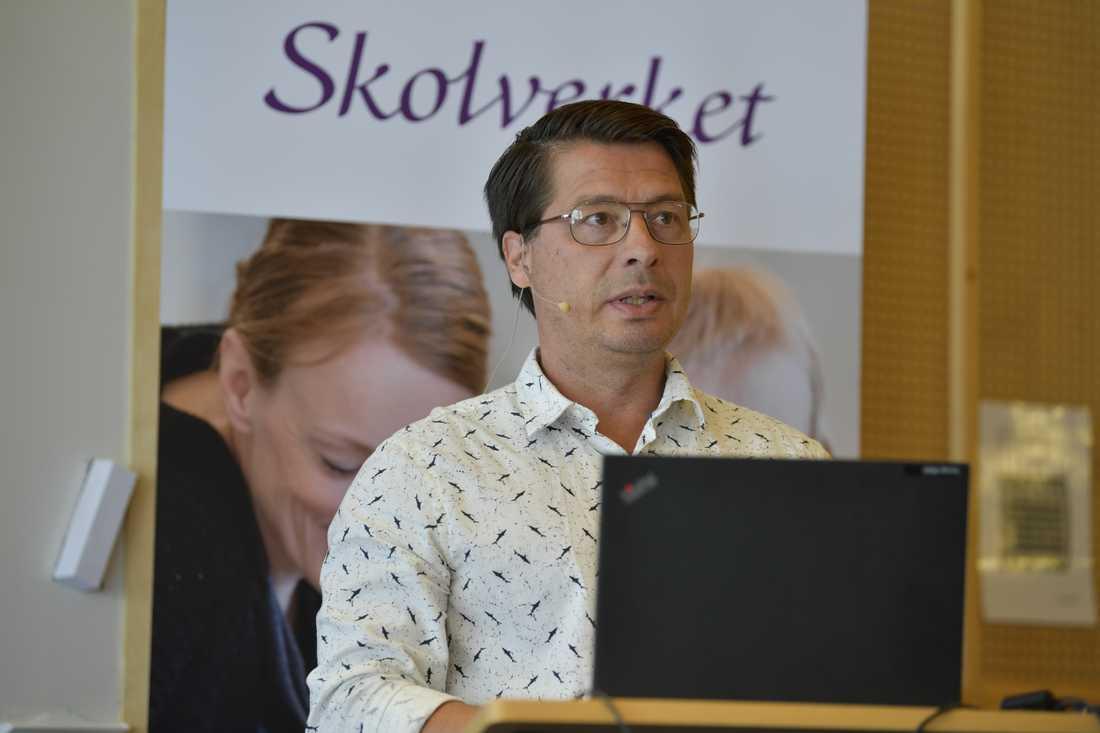 Tomas Matti, Skolverkets projektledare för den svenska delen av Talis.