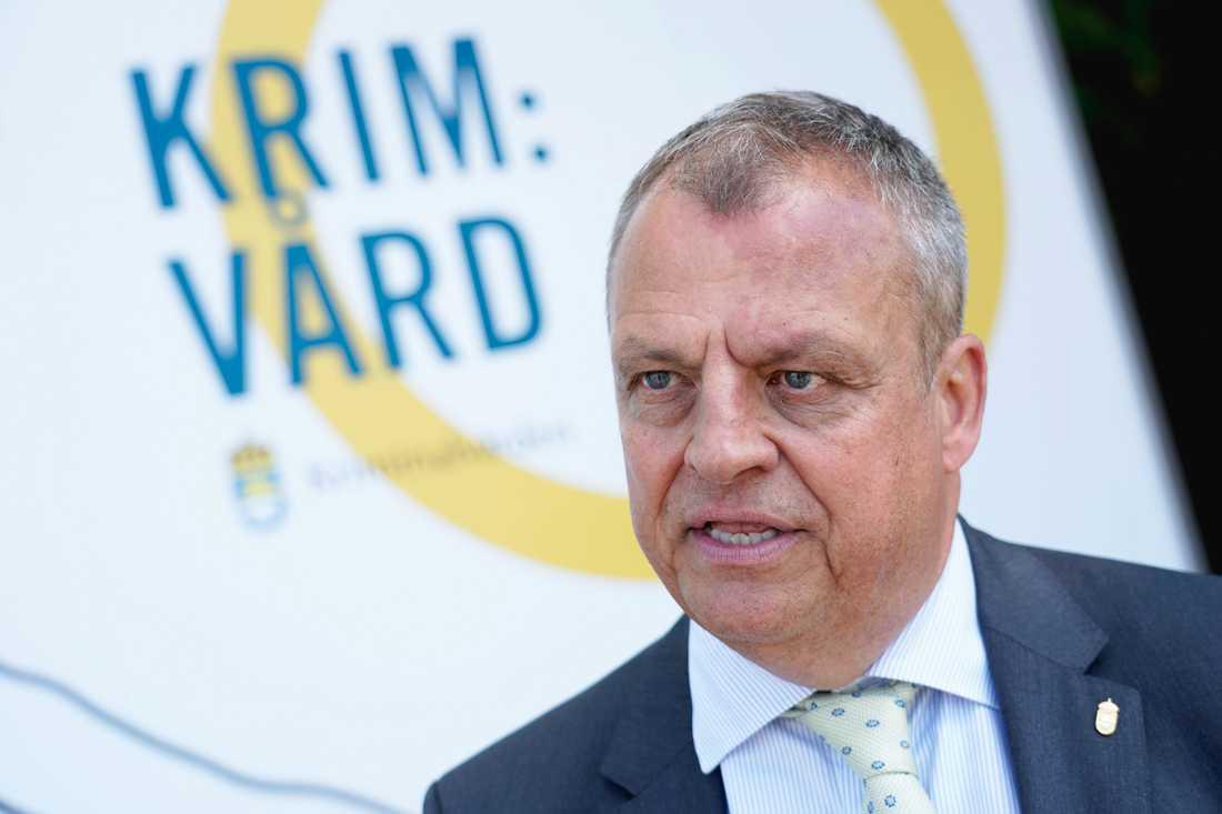Kriminalvården, Martin Holmgren, har beslutat att byrån kommer att byta till personalläge efter ökad arbetsbelastning.  Arkivbild.