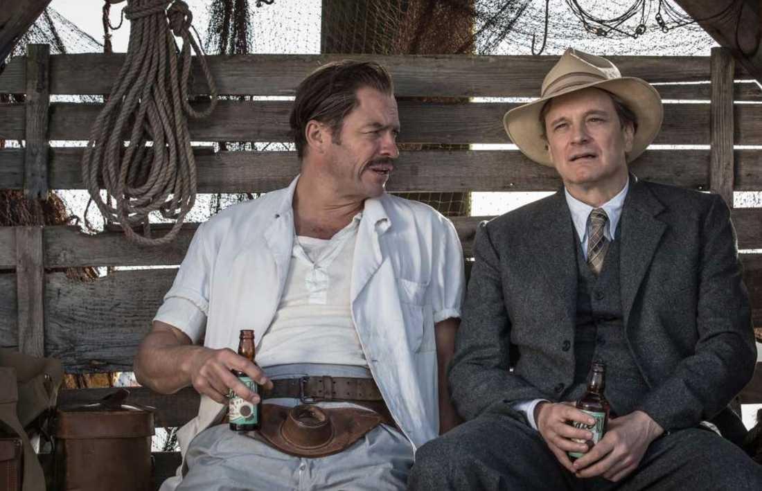 Dominic West som Ernest Hemingway.