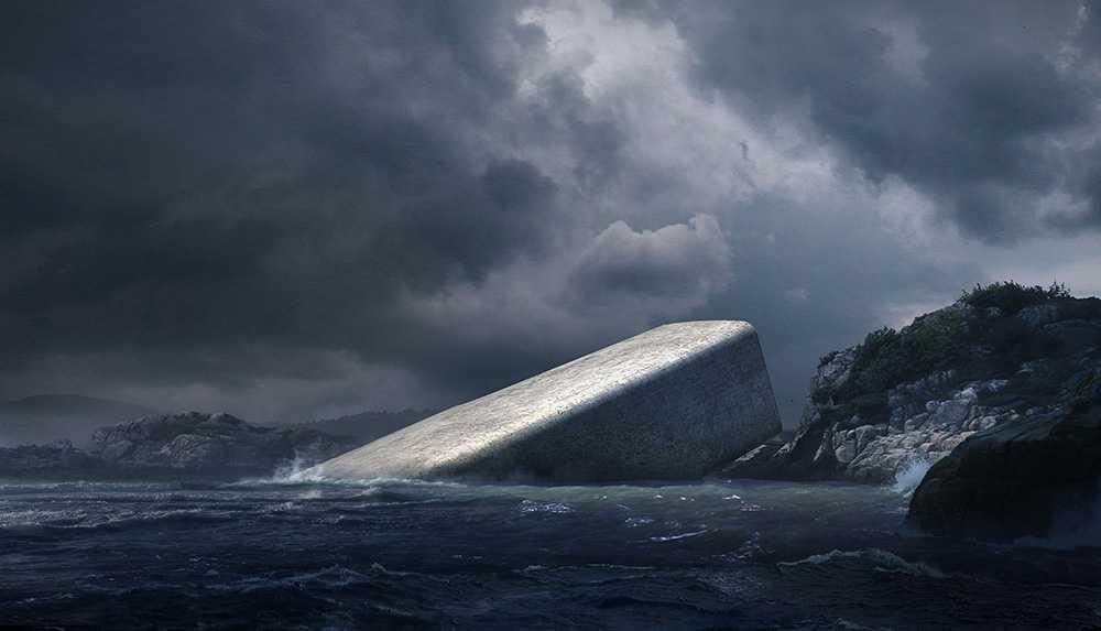 Restaurang Under i Norge kommer bli världens största undervattensrestaurang.
