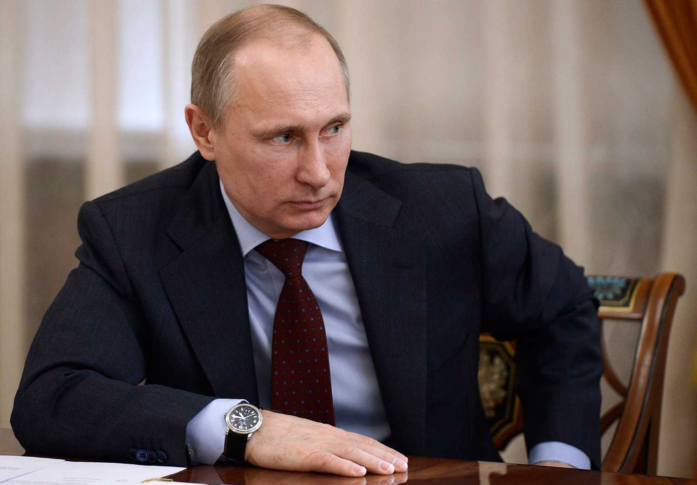 Ryssland president Vladimir Putin.
