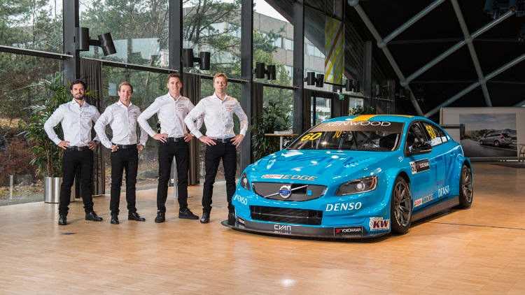 Storsatsning på 2017 med tre bilar i WTCC, dessutom kör Prins Carl Philip Swedish GT.