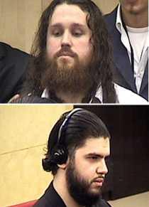 dömdes med svensken Överst: Bosniern Bajro Ikanovic, 30. Nederst: Danske medborgaren Turk Abulkadir Cesrut dömdes till 13 år och 4 månader.