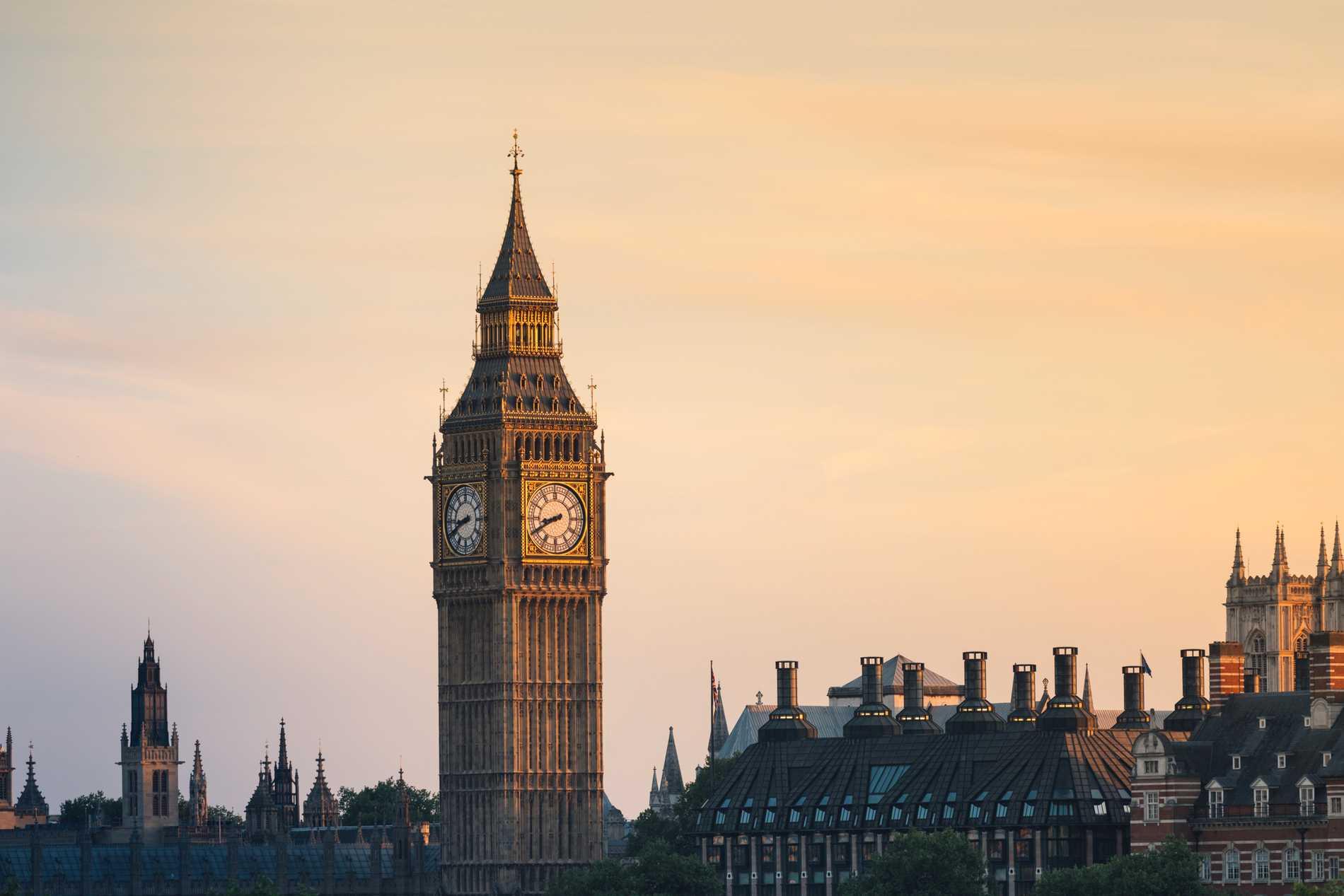 London är populäraste resmålet.
