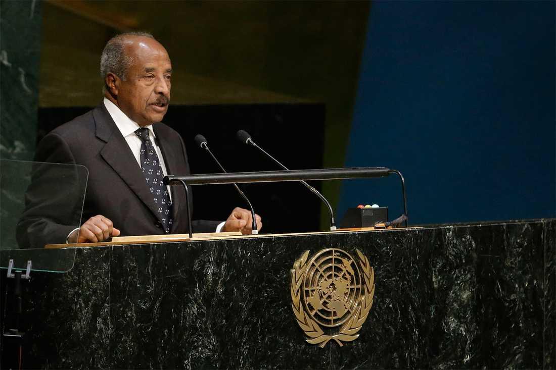 Eritreas utrikesminister Osman Saleh.