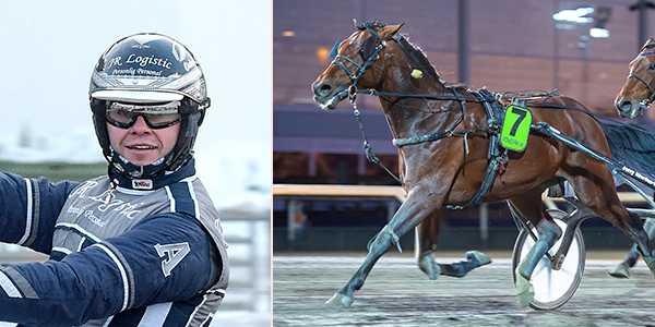 Oskar J Andersson och Zio Tom Jet.