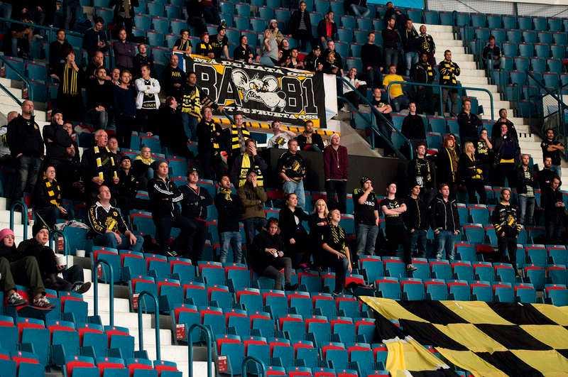 glest på läktarna AIK ligger näst sist i Hockeyallsvenskan, och har haft svårt att locka publik till Hovet i vinter. Foto