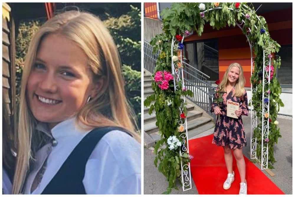 Systrarna Benedicte, 18, och Victoria, 12, dog på fjällturen när blixten slog ner.