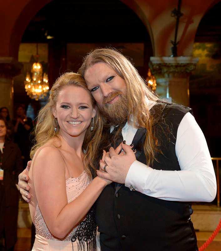 Rickard Söderberg, 40, operasångare, med dansaren Maria Zimmerman.