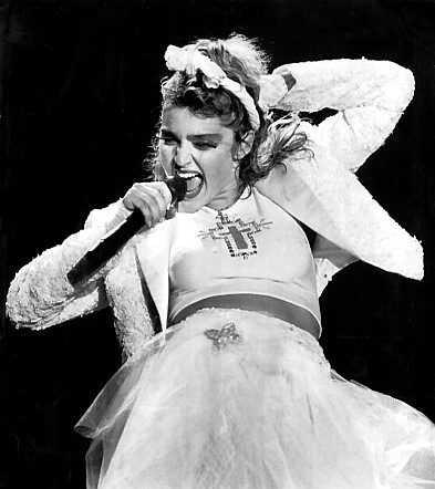 Madonna 1985.