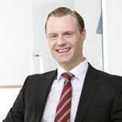 Jonas Lindell, vice VD på Notar Fastighetsförmedling.