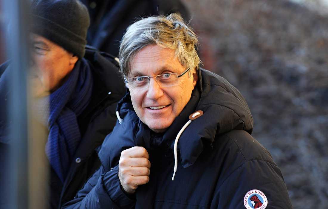 """Lasse Hallström under inspelningen av """"Hypnotisören"""", nu slår han tillbaka efter kritiken mot nya filmen."""