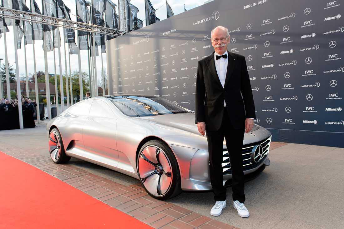 Mercedeschefen Dieter Zetche