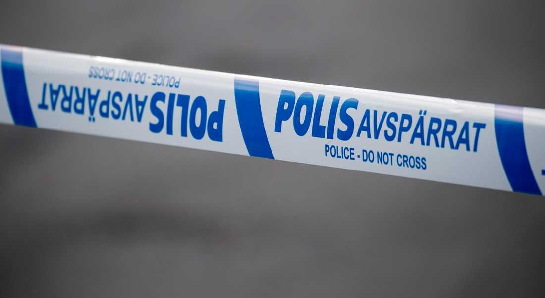 Två personer har anhållits efter skottlossningen i Uppsala. Arkivbild.
