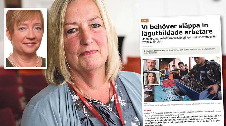 Företagarna hävdar envist att även yrken med låga formella utbildningskrav lider av påtagliga matchningsproblem – men några bevis för det lägger man inte fram, skriver Berit Müllerström och Tove Nandorf.