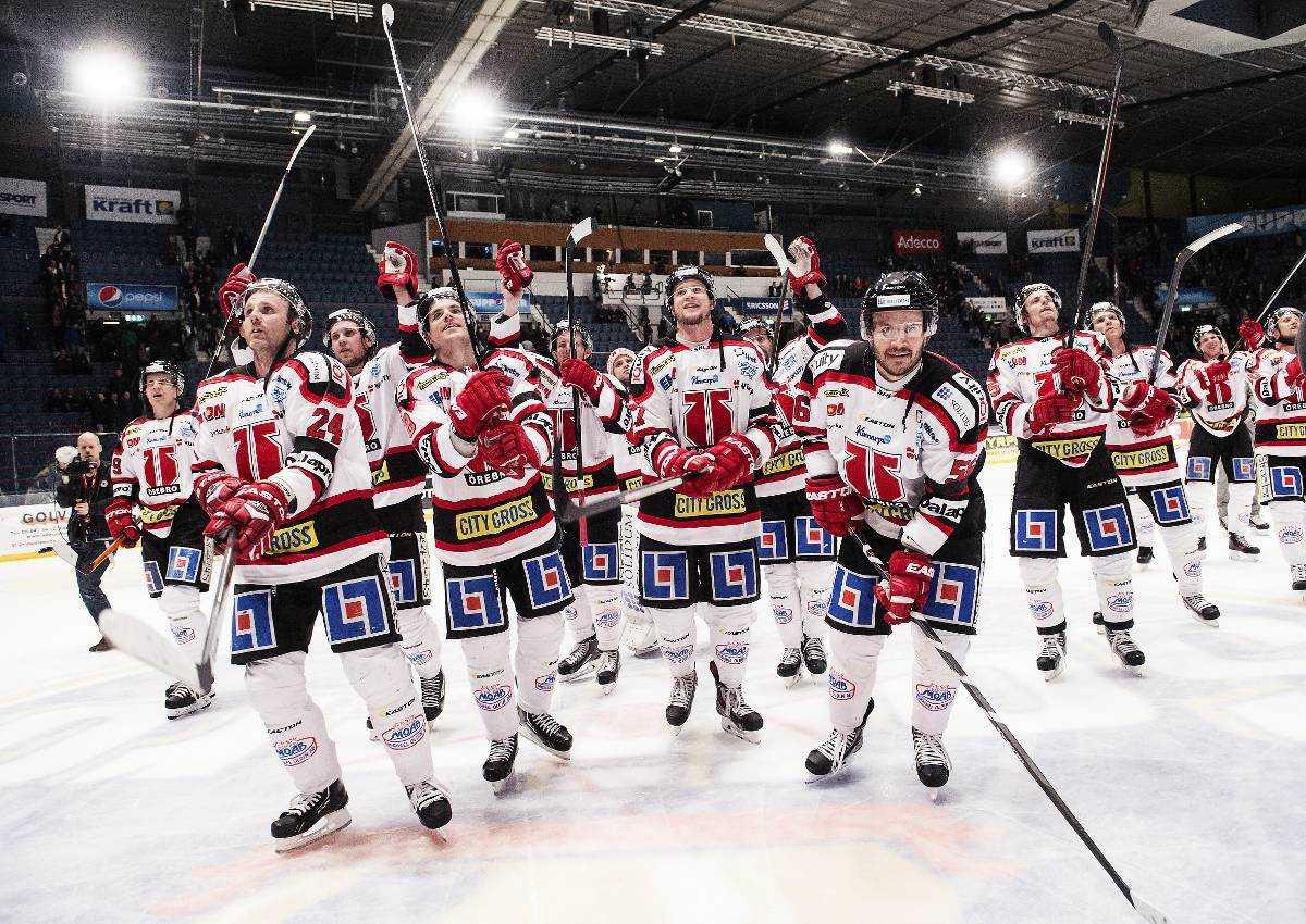 Örebro bortaslog Djurgården med 4–2 och säkrade en plats i nästa säsongs SHL.