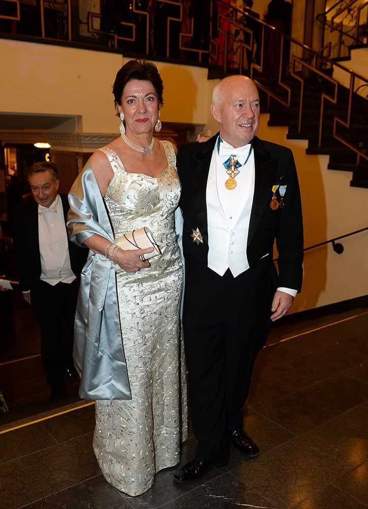 Eva Schwarz Grimaldi med Salvatore Grimaldi.