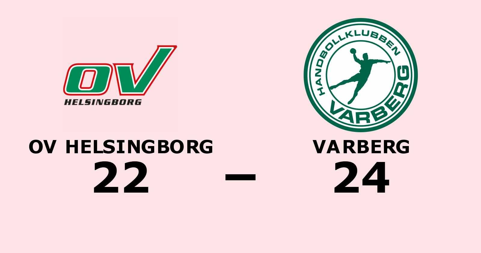 Efterlängtad seger för Varberg – bröt förlustsviten mot OV Helsingborg