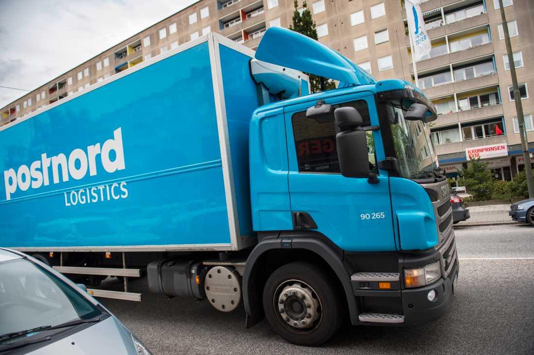 Postnord levererar inte paket till området Seved i Malmö. Arkivbild.