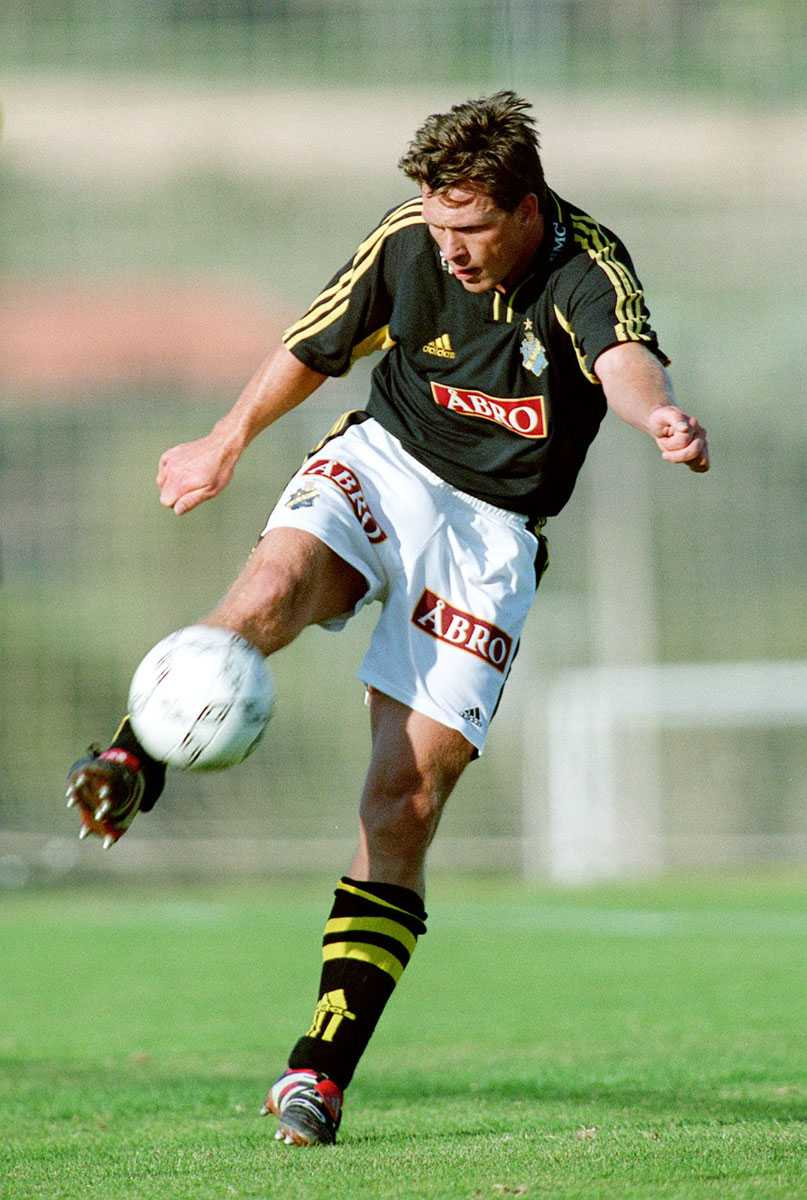 """Pang på Kåmark gjorde """"bara"""" två år i AIK."""