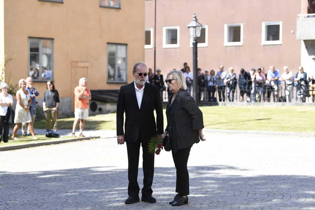 Peter Haber och Lena T Hansson.