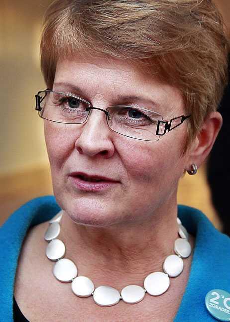 Näringsminister Maud Olofsson.