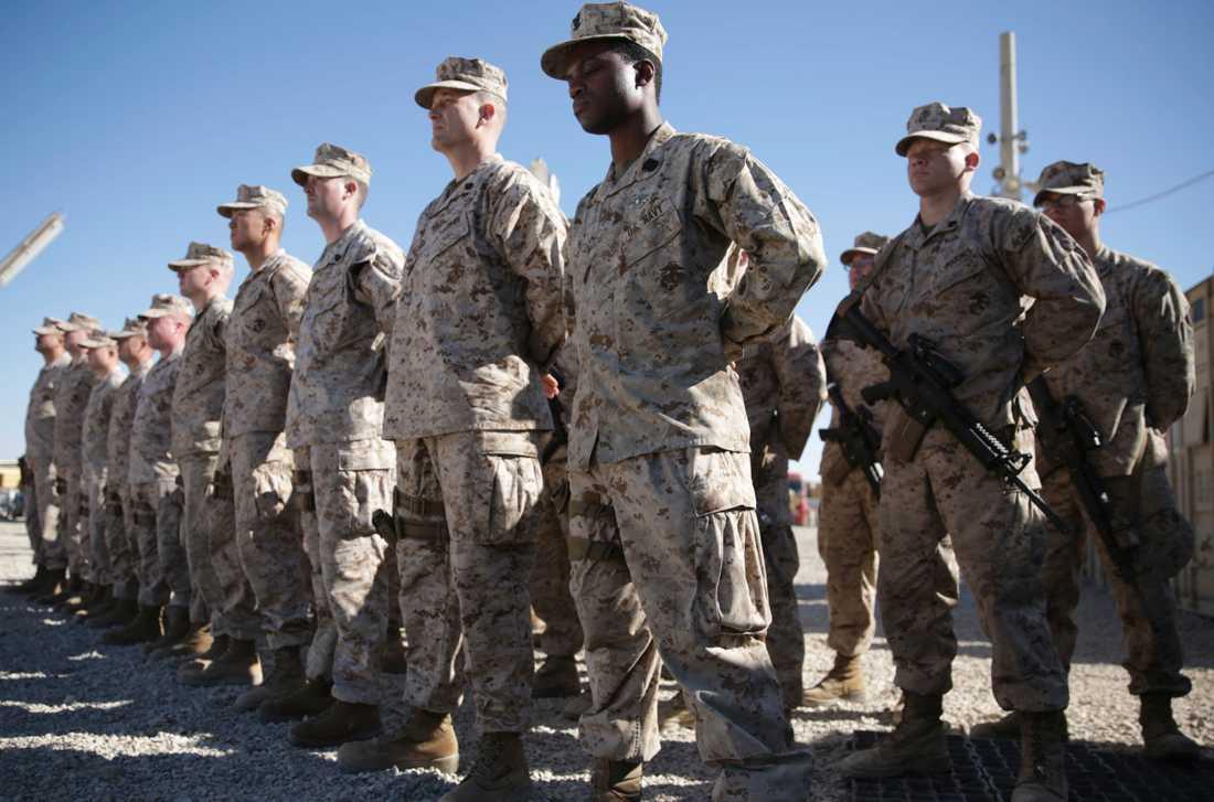 Amerikanska soldater i Afghanistan.