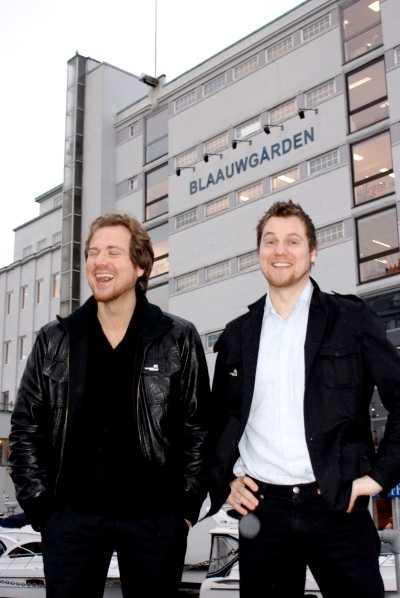 Bröderna Frank Horn Hartvedt och Kurt Horn Hartvedt.