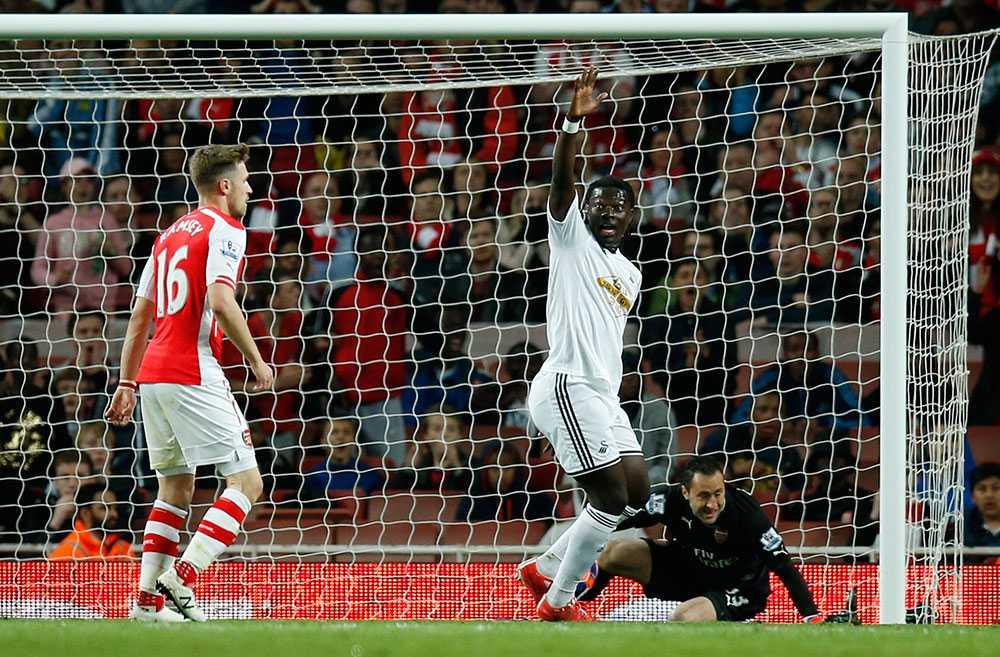 Swansea besegrade Arsenal i Premier League