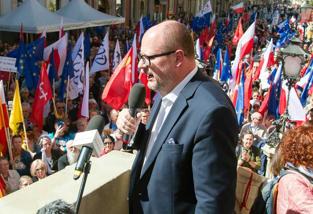Paweł Adamowicz var Gdansks borgmästare i 20 år.