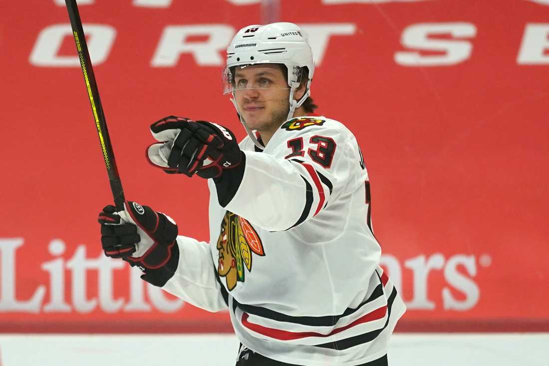 Mattias Janmark trejdas från Chicago Blackhawks till Vegas Golden Knights.