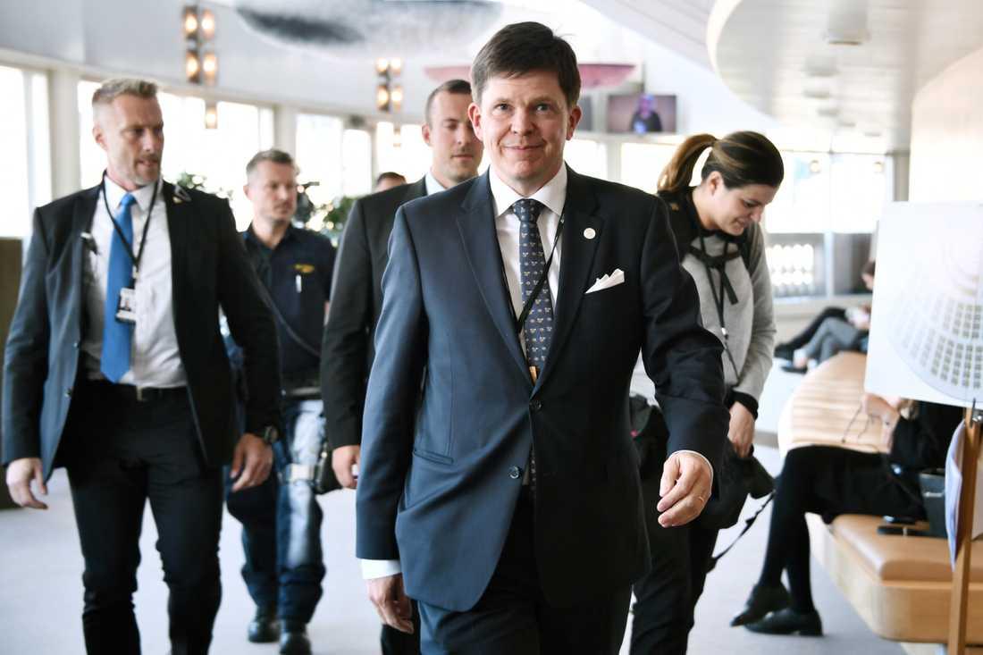 I dag börjar allvaret för talmannen Andreas Norlén.