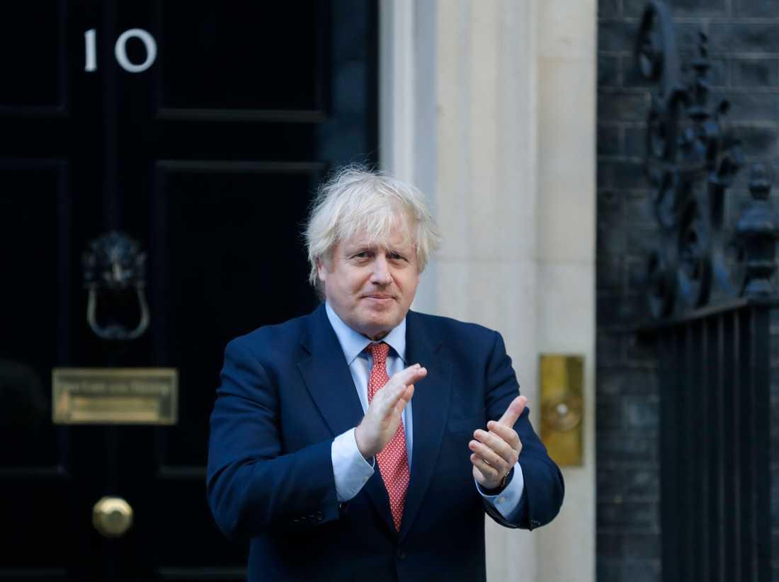 Storbritanniens premiärminister Boris Johnson har inte mycket att klappa för just nu, enligt opinionsmätningar i landet.