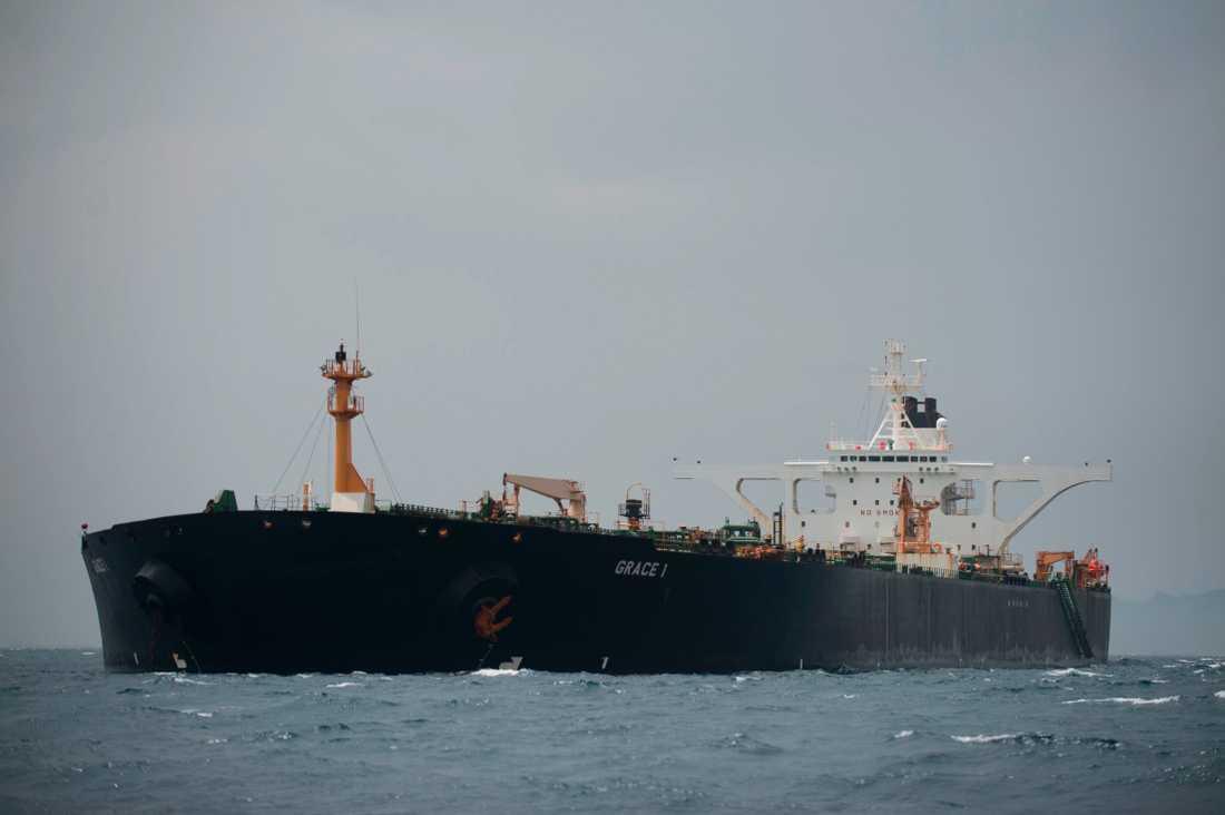 Den iranska oljetankern Grace 1 hålls kvar i Gibraltar med hänvisning till EU:s sanktioner.