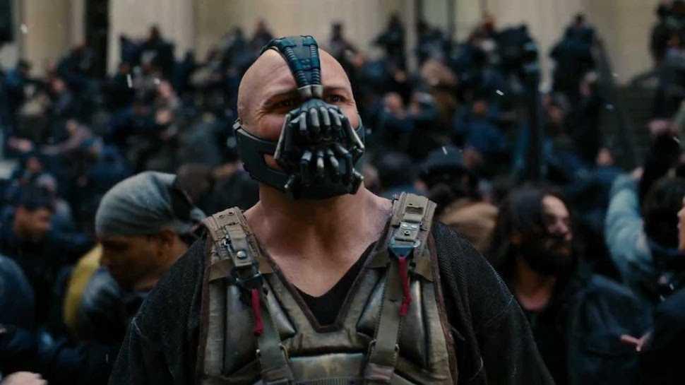 "Bane i ""The dark knight rises"" (2012)"