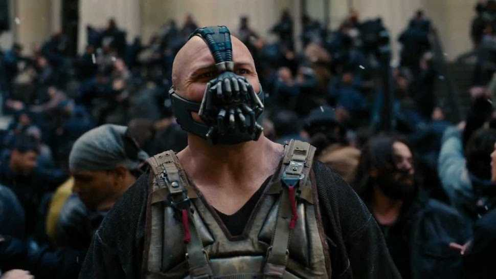 "Bane i ""The dark knight rises"" (2012)"
