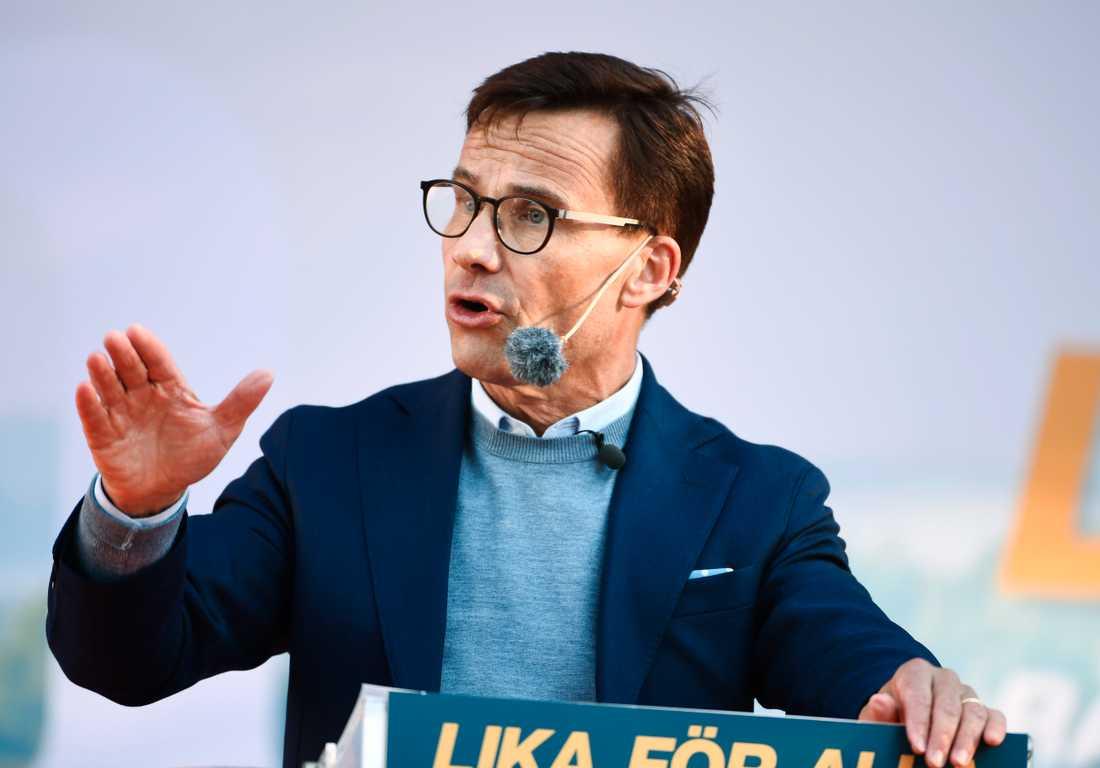 Ulf Kristersson bryter tystnaden om M-riksdagsledamoten Hanif Balis hot mot tidningen DN.