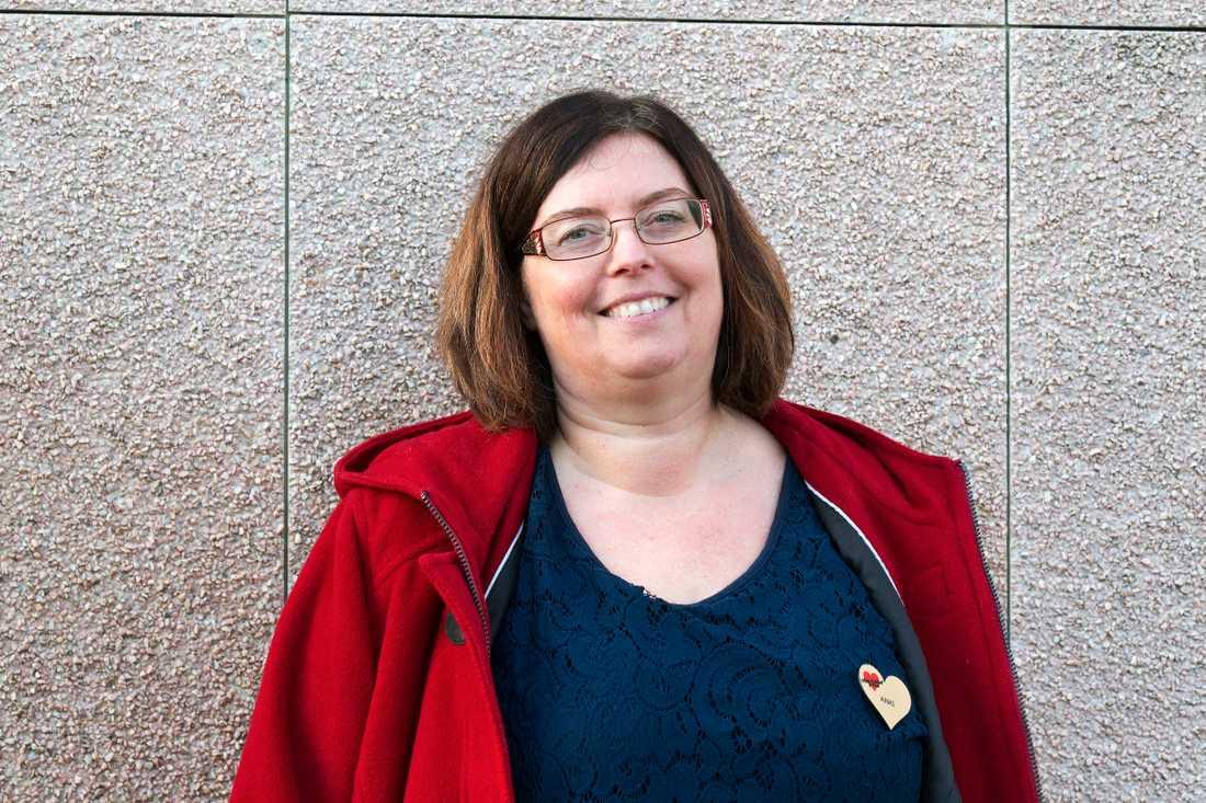 Anki Edlundh Berglund är eldsjälen bakom Ankis guldkant. Hon brinner för att äldre ska få det där lilla extra.