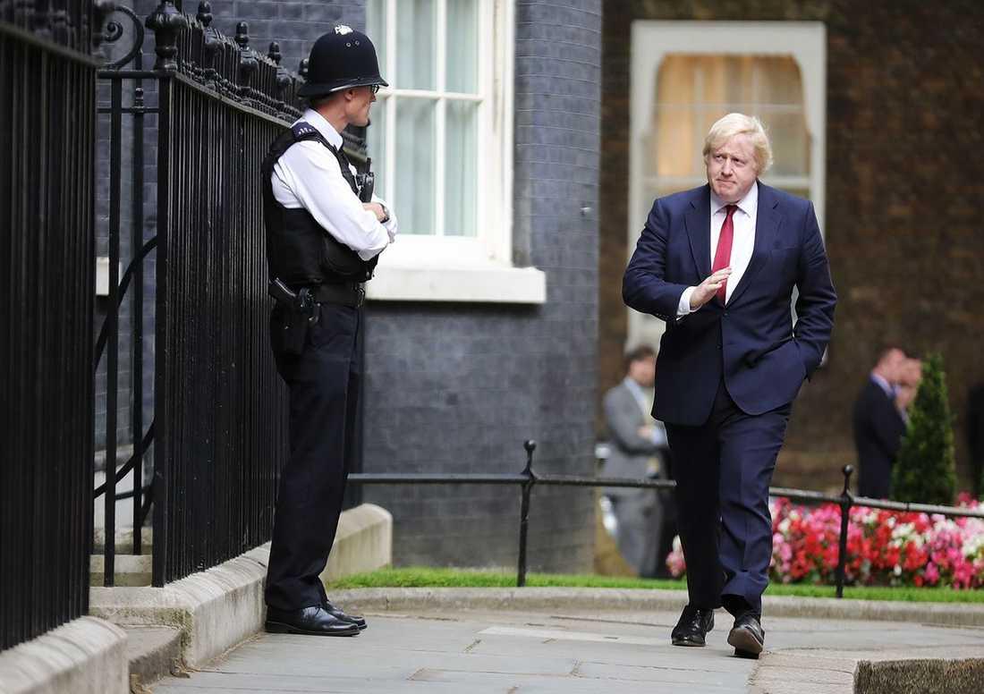 Boris Johnson i juli 2016.