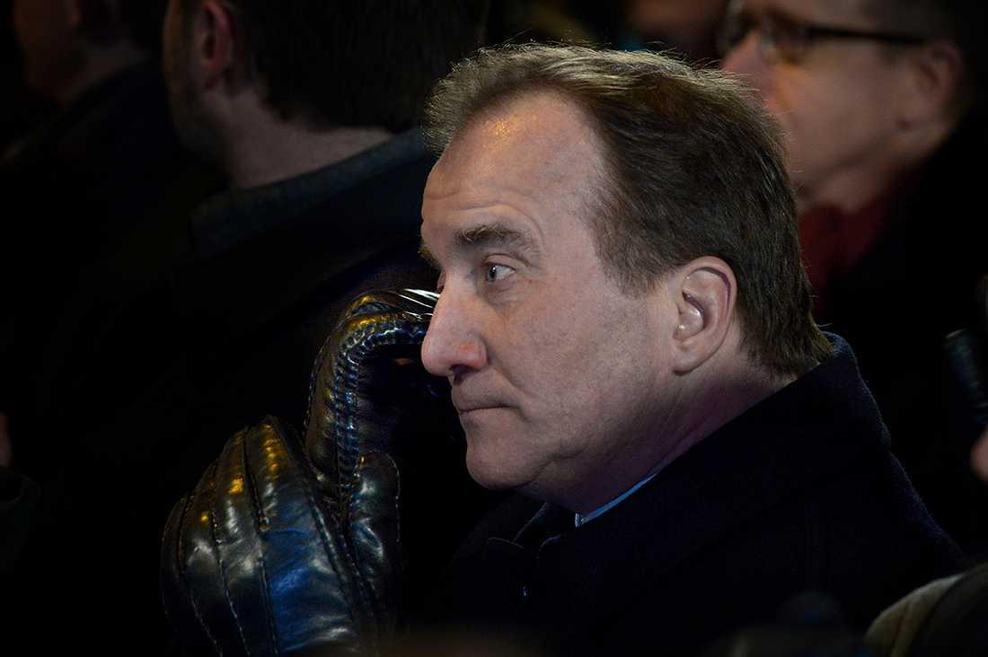 Statsminister Stefan Löfven var på plats i Köpenhamn.