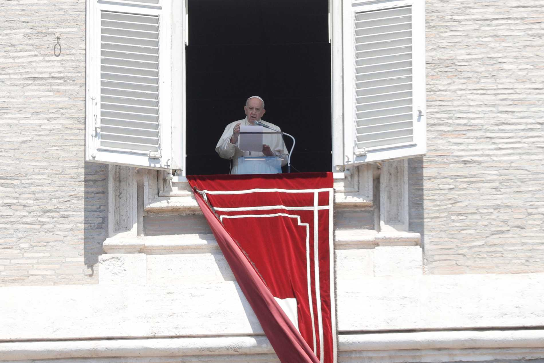 Påve Franciskus hyllade den saligförklarade Rosario Livatino i sin söndagsbön.