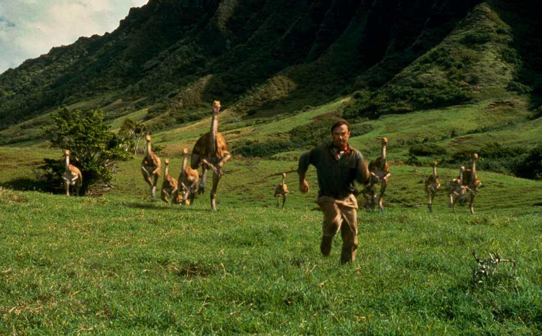 """En framtid med """"Jurassic World"""" rusar emot oss..."""