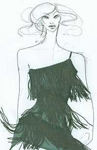 Lenas klänning.