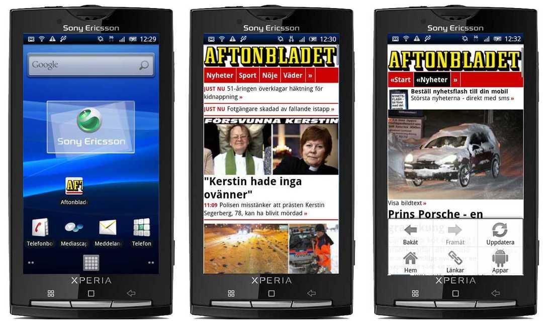 Om du har en Android-mobil har du alltid tillgång till Aftonbladets hela mobilanpassade innehåll snabbt genom att hämta nya Aftonbladet-appen.