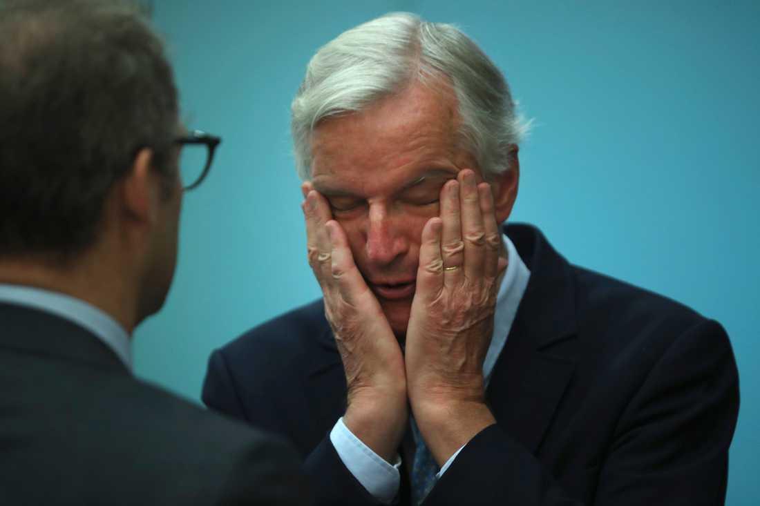 EU:s chefsförhandlare Michel Barnier.